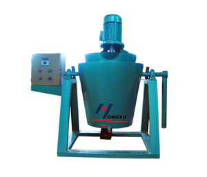 Cryogenic wax paste mixer