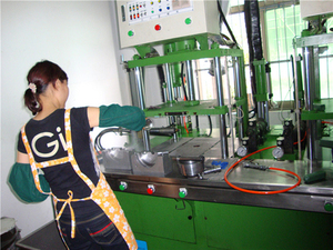Wax Mould Preparation of Zhejiang Xinchang Customer Office
