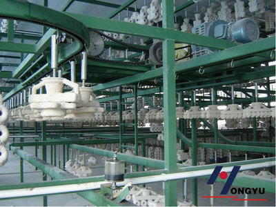 Automatic Shell Drying Line
